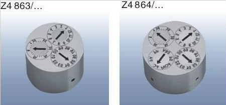HASCO标准日期章 Z4863,Z4864